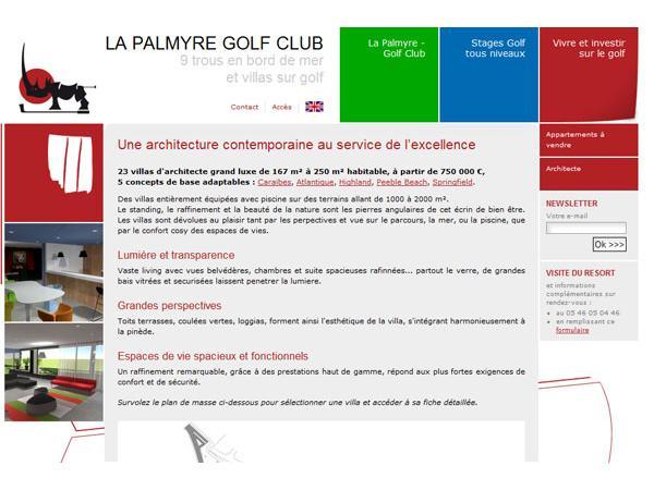 villa de luxe golf