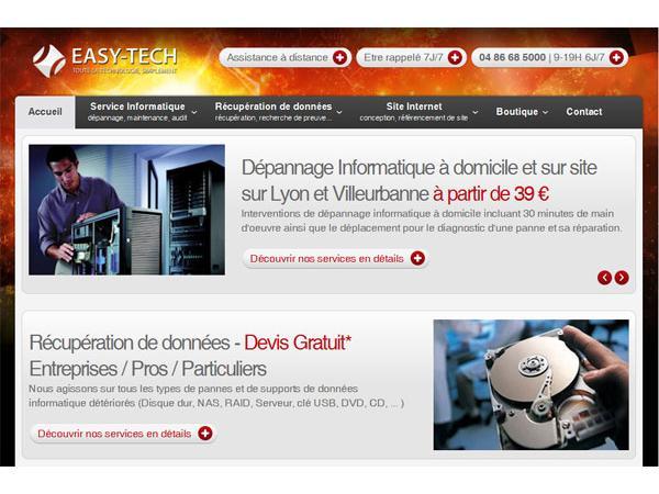 EASY-TECH Lyon - Dépannage informatique
