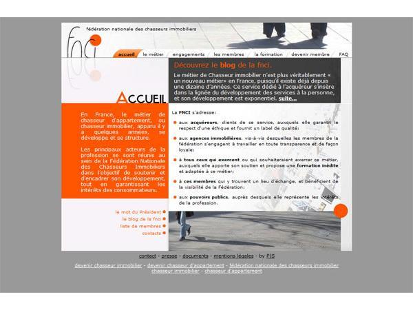 Fédération NATIONALE des Chasseurs Immobiliers