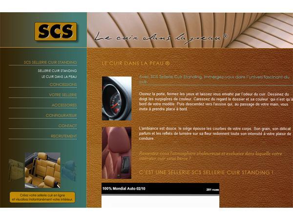 SCS Sellerie Cuir Standing