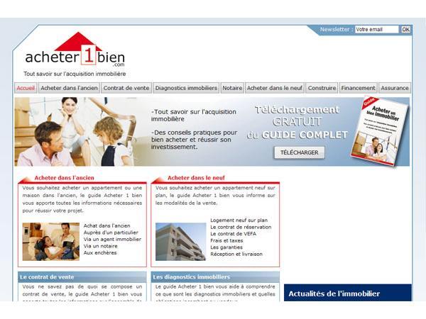 Acheter 1 bien immobilier : Guide pratique gratuit
