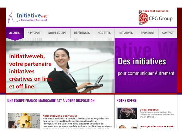 Initiativeweb gestion base de données