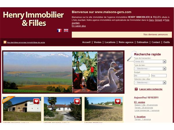 Immobilier Gersois