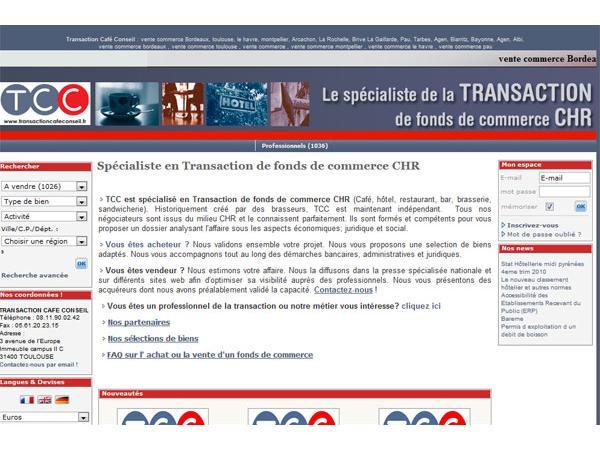 Transaction Café Conseil