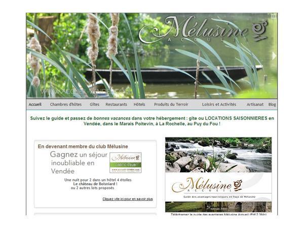 Accueil touristique en sud Vendée