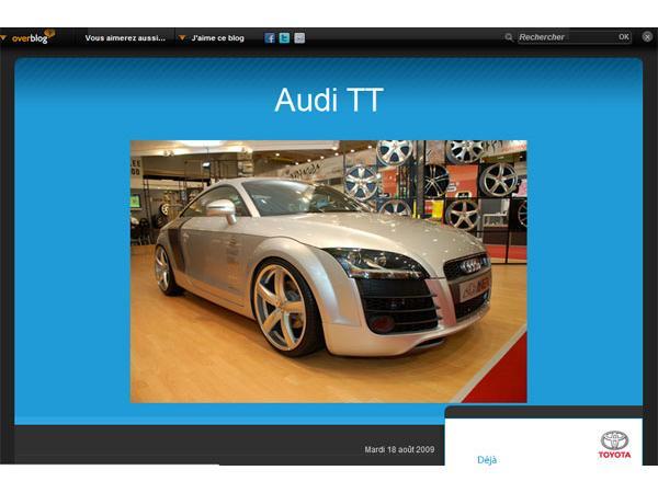 Audi TT les nouveautés