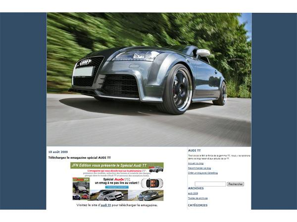 Audi TT les atouts