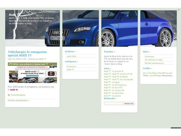 Audi TT la série TT-RS