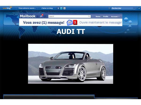 Audi TT la version 8J