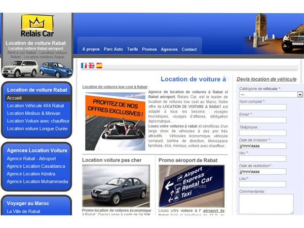 Location de voiture, 4X4 et minibus à Rabat