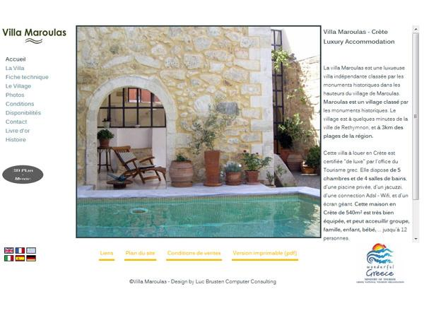Villa Maroulas, Crete - Luxury Historic Venetian Holiday Villa Rental