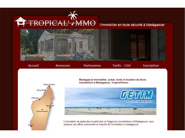 Tropical Immo - L'immobilier à Madagascar