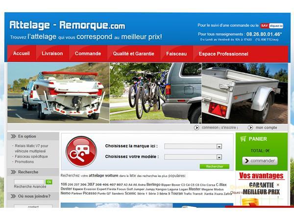 Attelage-Remorque