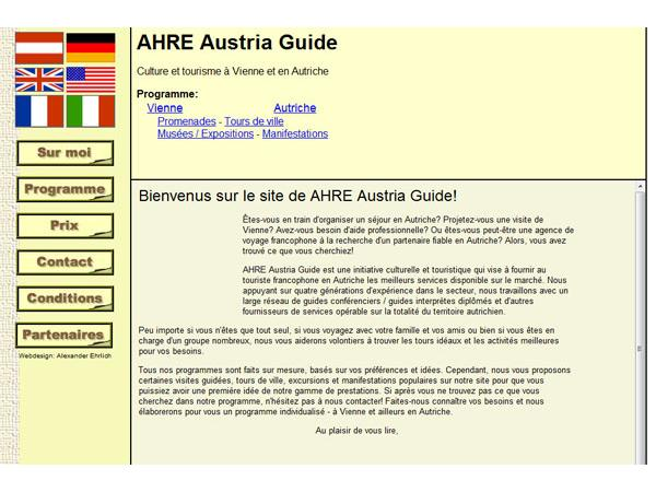 AHRE Austria Guide