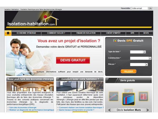 Isolation thermique des habitations et des bâtiments