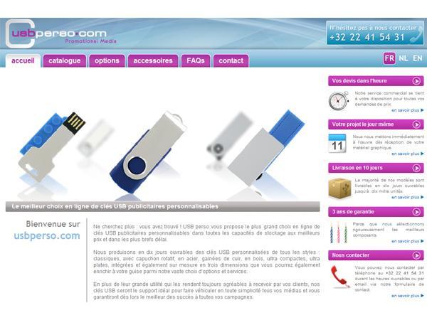 Spécialiste en clés USB