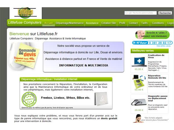 Littlefuse Computers : Dépannage informatique
