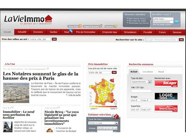 Prix immobilier