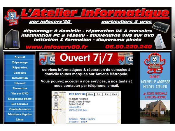 dépannage informatique Amiens
