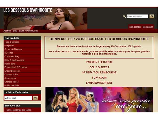 Boutique Les Dessous d'Aphrodite