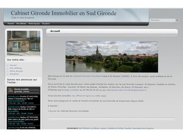 Cabinet Gironde Immobilier