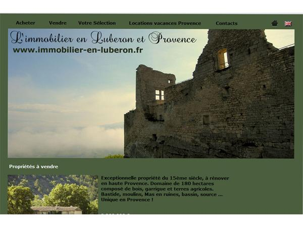 Immobilier Luberon Provence
