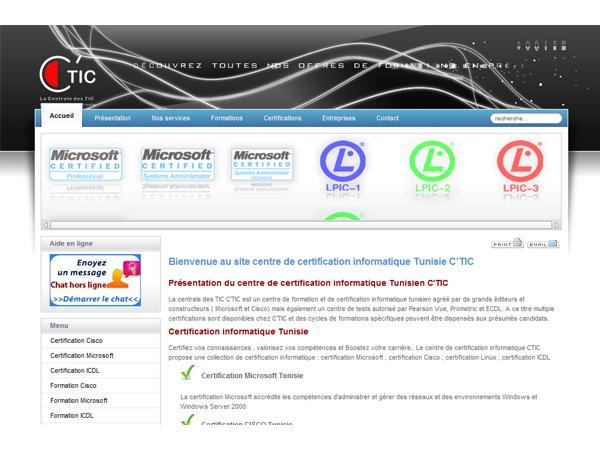 centre de certification informatique C?TIC
