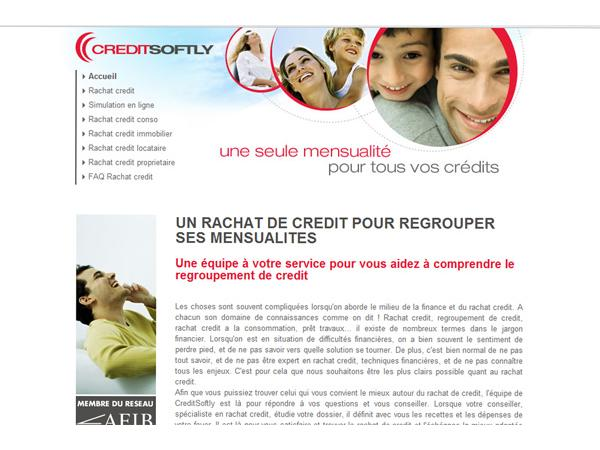 CreditSoftly, organisme spécialisé dans le rachat credit