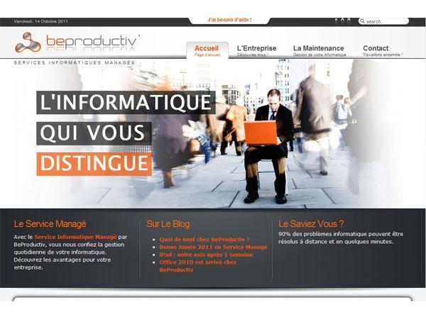 BeProductiv, maintenance et assistance informatique pour les tpe et pme à Lyon