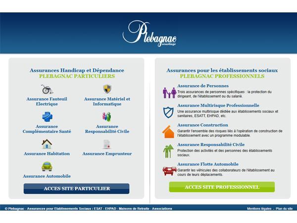 PLEBAGNAC Courtage, Assurances établissements sociaux Paris
