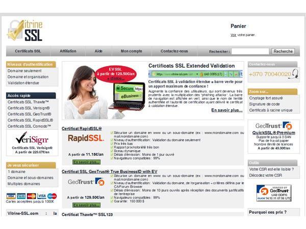 Revente de certificats SSL reconnus à prix discount
