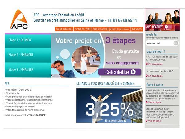 APC : pret immobilier et rachat credit 77