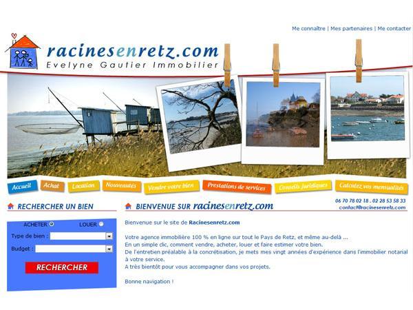 Racinesenretz : Agence immobilière en Bretagne et sur tout le pays de Retz