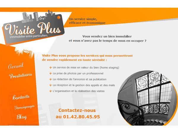 Service immobilier des particuliers - Visite Plus