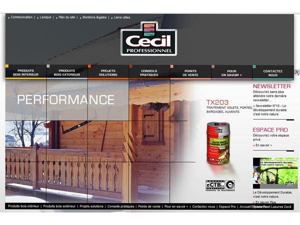 Cecil Pro : protection du bois