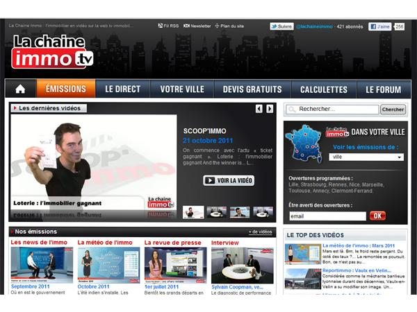 IWTV La chaine Immo enfin sur vos écrans