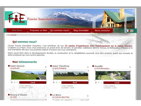 Foncier Immobilier expertise sud grenoblois