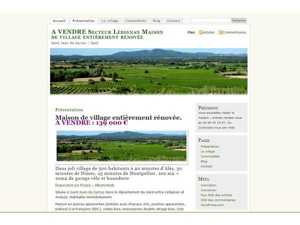 Maison à vendre - Sud France - Gard