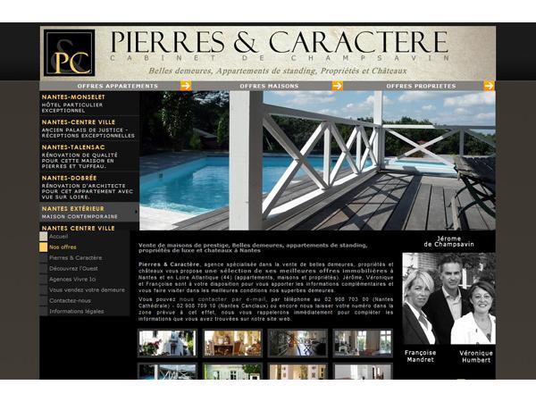 Pierres et Caractère : agence immobilière haut de gamme à Nantes