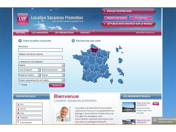 location vacances promotion, location vacances, location vacances saisonnière
