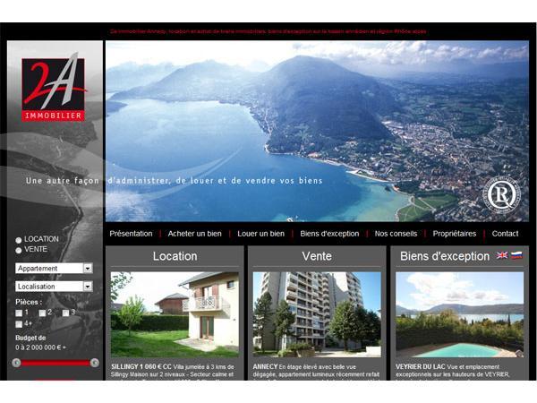 2A-Immobilier : vente et location de logements à Annecy et à proximité