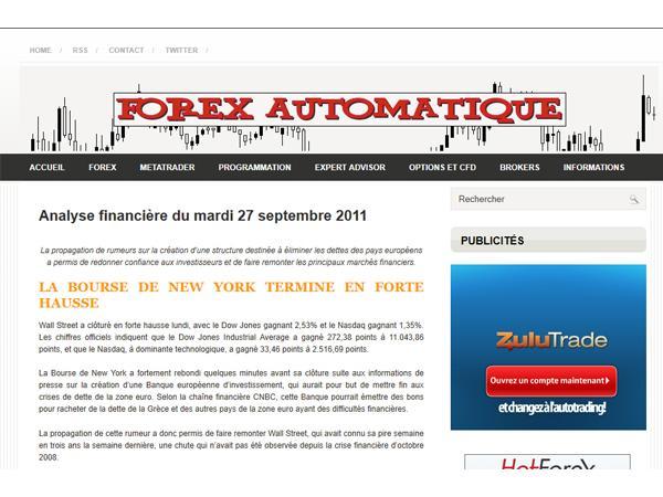 Forex Automatiqe