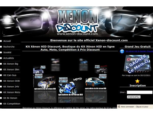 Kit xenon discount pour automobile