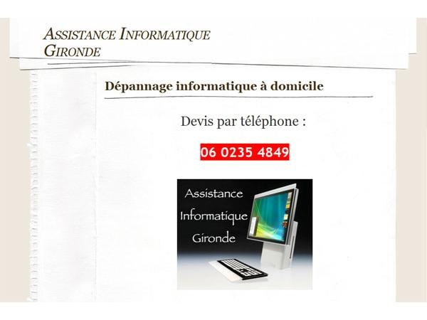 Assistance Informatique Gironde