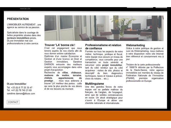 Vous cherchez une agence immobilière de luxe, Dluxe.fr est la solution