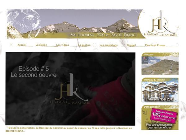 Le Hameau du Kashmir : résidence de tourisme Val Thorens