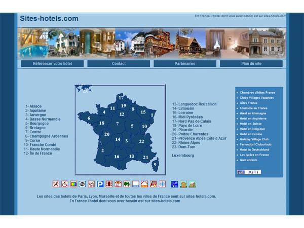 Les hôtels français