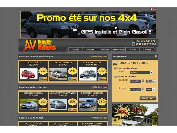 Location voiture Agadir - Agadir Voitures