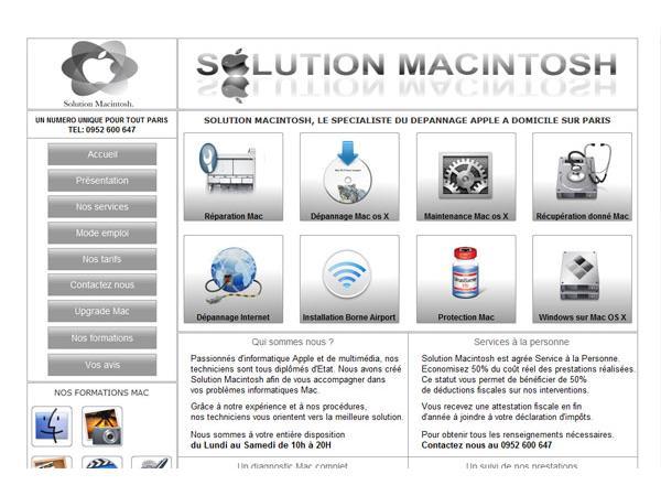 Solution Macintosh