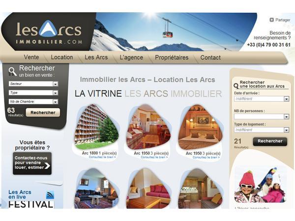 Résidence de tourisme Les Arcs Immobilier